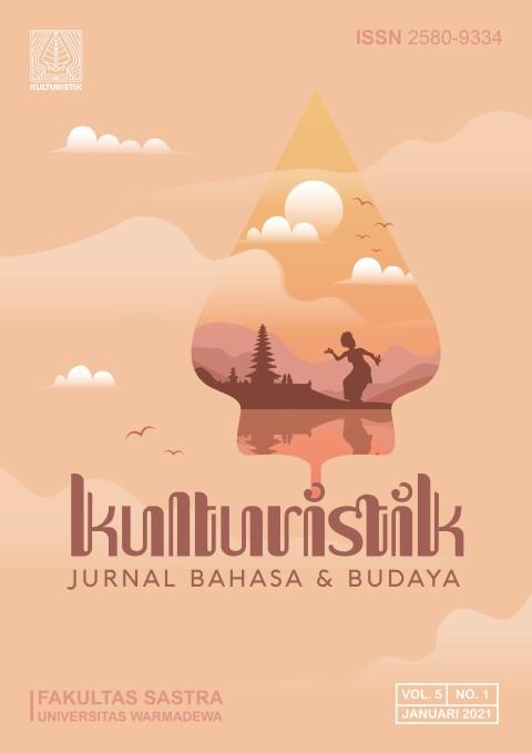 kulturistik jurnal bahasa dan budaya